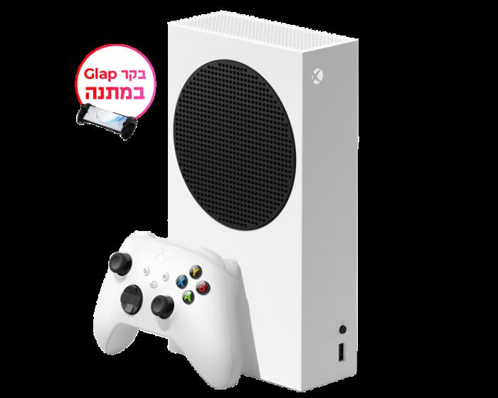 קונסולה+ בקר Glap במתנה Xbox SERIES S 512GB מהדורה דיגיטלית