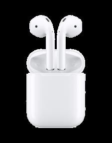 אזניות  איירפודס  2 אלחוטיות   Airpods 2 with charging case Apple