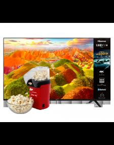 "Hisense 75"" 75A7120FIL קונים מסך ומקבלים מכונת פופקורן מתנה"