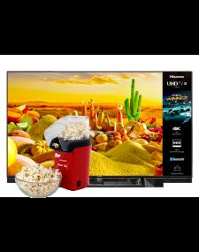 """Hisense 65"""" 65U7WFIL קונים מסך ומקבלים מכונת פופקורן מתנה"""