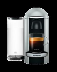 מכונת קפה NESPRESSO VertuoPlus דגם GCB2 בגוון כסוף