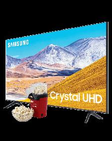 "Samsung 85"" 85TU8000 TV Crystal Processor 4K"