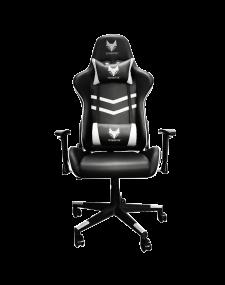 כיסא גיימינג SPARKFOX GC65C - שחור לבן