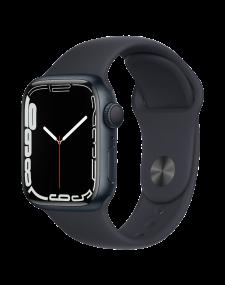 Apple Watch Series 7 eSIM 41mm שעון חכם אפל שחור