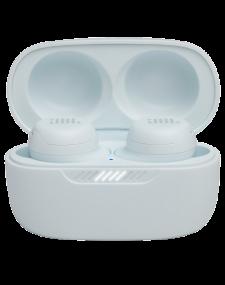 אוזניות אלחוטיות עם מסנן רעשים בצבע לבן JBL LIVE FREE NC TWS