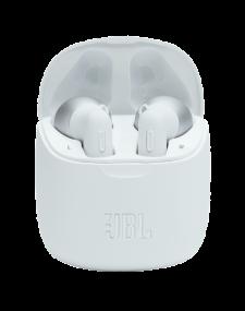 אוזניות אלחוטיות בצבע לבן JBL TUNE 225 TWS