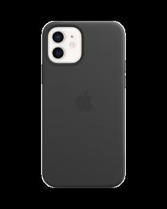 כיסוי עור Apple מקורי שחור ל-iPhone 12 | 12 Pro