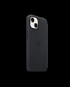 כיסוי עור אחורי מקורי בצבע שחור לאייפון iPhone 13