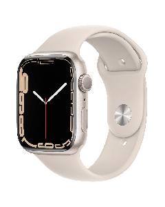 Apple Watch Series 7 eSIM 45mm שעון חכם אפל בצבע לבן
