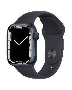 Apple Watch Series 7 GPS 45mm שעון חכם אפל שחור