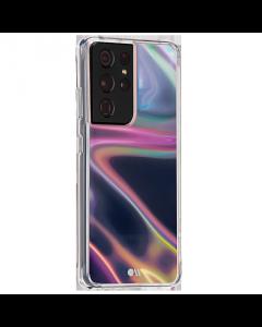 כיסוי שקוף בצבע Case Mate SOAP BUBBLE מתאים ל Galaxy S21 Ultra