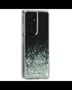 כיסוי שקוף עם נצנצים Case Mate TWINKLE OMBRE ל Galaxy S21 ultra
